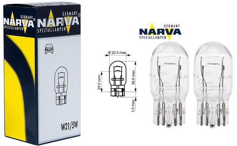 Manufacturer: narva power: 21/5w voltage: 12v type: w lamps for indicators, brake lights
